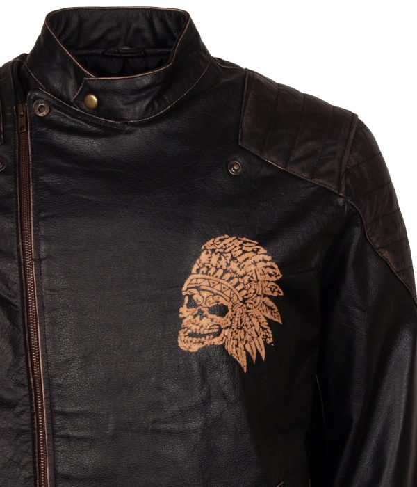 Red chief Skull Leather Outfit