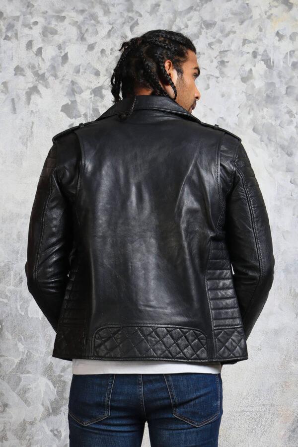 Mens Biker Jacket Boda Leather