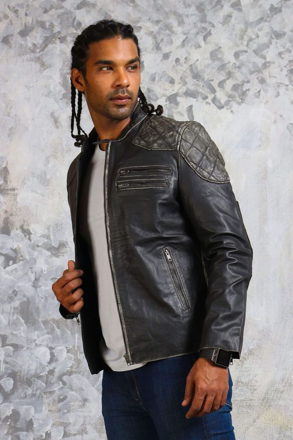 Skull motorcycle jackets for men
